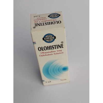 OLOHISTINE ( Olopatadine 1 mg ) ophthalmic solution 5 ml