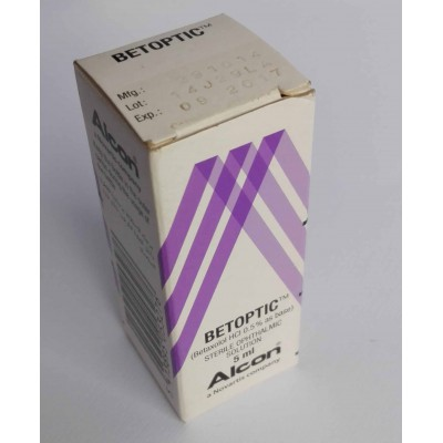 BETPTIC ( Betaxolol HCl 0.5 % as base sterile phthalmic solution 5 ml )