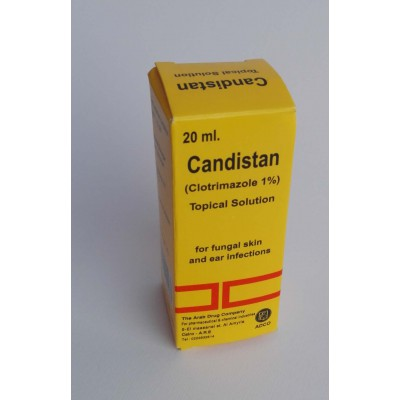 Candistan ( clotrimazole 1 % ) topical solution