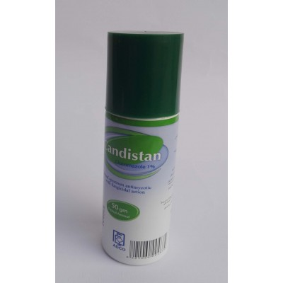 Candistan ( clotrimazole 1 % ) 50 gm topical aerosol