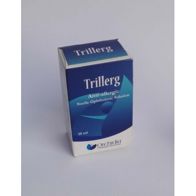 Trillerg anti-allergic sterile ophthalmic solution 10 mg