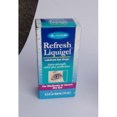 Refresh liquigel ( carboxymethylcellulose sodium )lubricant eye drops 15 ml