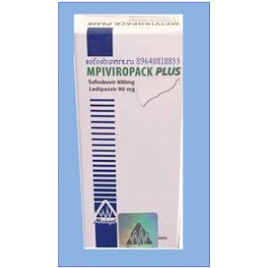 MPI VIROPAC PLUS ( sofsobuvir 400 mg + ledipasvir 90 mg ) 28 tablets