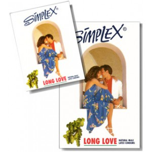 simplex 3 pcs LONG LOVE