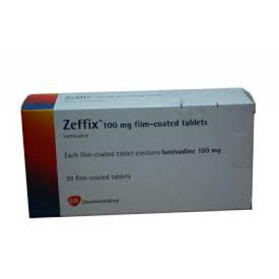 Zeffix 100mg (lamivudine) 28 tablets