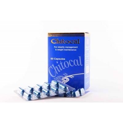 CHITOCAL ( CHITOSAN + VITAMIN C + GYMNEMA SYLVESTRE ) 60 CAPSULES