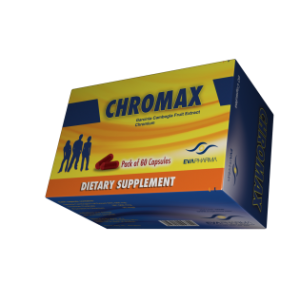 Chromax (Gracinia Cambogia Fruit Extract Chromium) 60 Capsule
