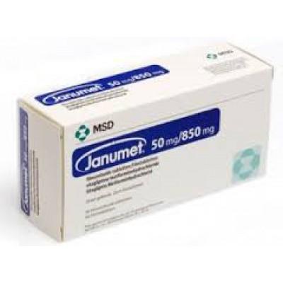 Janumet 50mg /850mg 56 tablets(sitagliptin/metformin HCl)