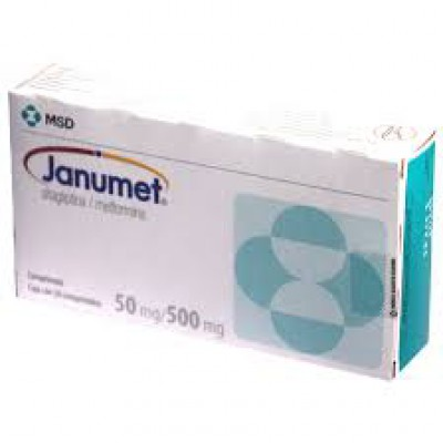 Janumet 50mg /500mg 56 tablets(sitagliptin/metformin HCl)