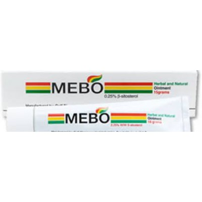 Mebo 15gm (.25%w/w B-sitosterol) Herbal and Natural ointment
