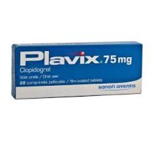 Plavix (clopidogrel ) 75mg 28 tablets