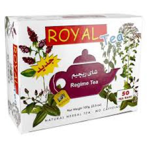 Royal tea regime 25 packets