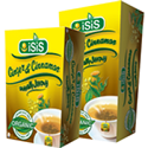 ISIS Ginger and Cinnamon 12 packets
