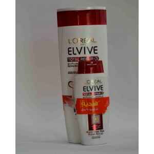 LOREAL ELVIVE shampoo repairing reparing + 90 ml shampoo for free 200ml
