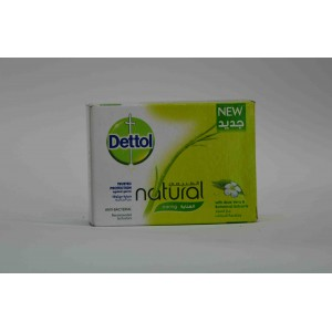 dettol anti natural caring skin care 90 gm soap