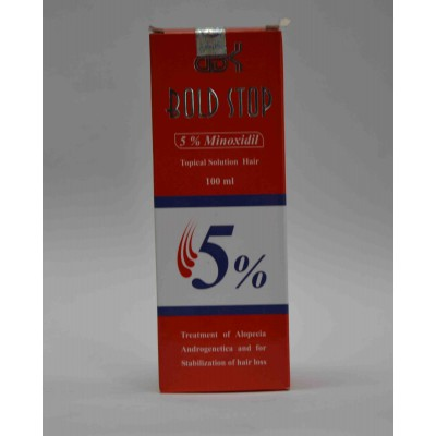 bold stop 5%minoxidil  topical solution100ml