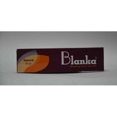 Blanka whitening cream with spf 50 gm