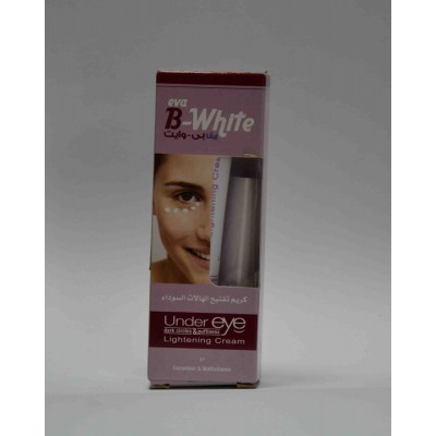 eva B-white under eye dark circles & puffiness lightening cream 15 gm