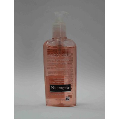 visibly clear pink grapefruit facial wash 150ml