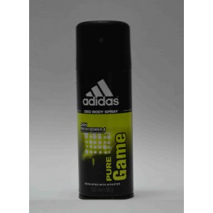 adidas pure game deo body spray 24h fresh power for him 150ml