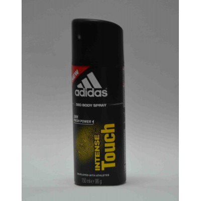 adidas intense touch deo body spray 24h fresh power for him 150ml