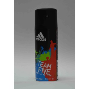 adidas team five deo body spray special edition for him 150ml