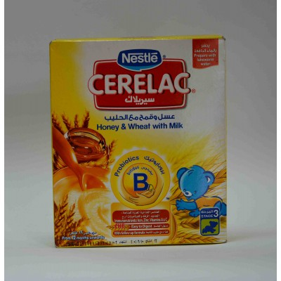 cerelac honey & wheat with milk stage one from 6 months on wards 200 gm
