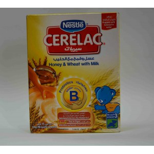 cerelac honey & wheat with milk stage one from 6 months on wards 350 gm