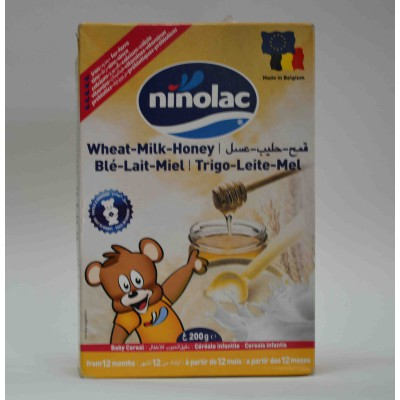 ninolac- wheat - milk- honey baby cereal from 6 months 200 gm