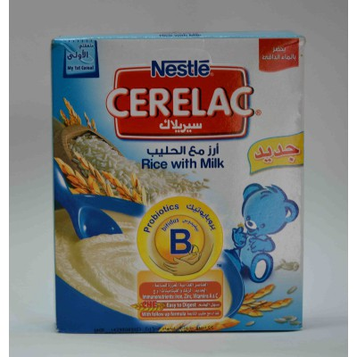 cerelac rice with milk stage one from 6 months on wards 200gm