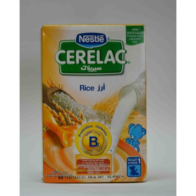 cerelac rice stage one from 6 months on wards 125 gm