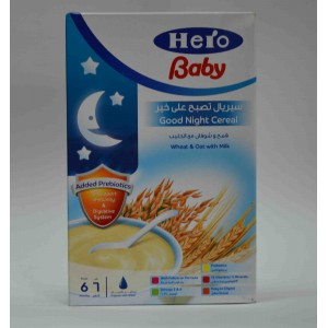 hero baby wheat&oat with milk  6months