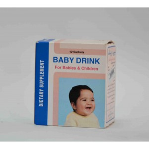 baby drink for babies & children 12sachets