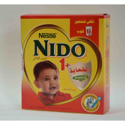 nido +1 spray dried milk made 288 gm