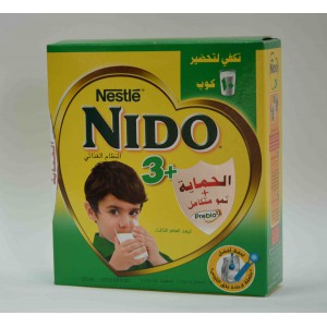 nido +3 spray dried milk made 288 gm