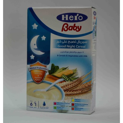 hero baby cereals & vegetables with milk  6months