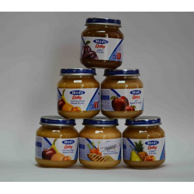 hero baby apple compote 6 months 130 gm