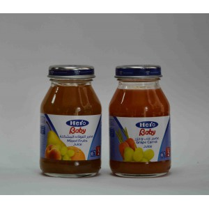 hero baby grape carrot juice 6 months 130 gm