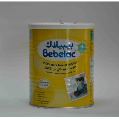 bebelac FL infant milk free of lactose from birth on ward 400 gm