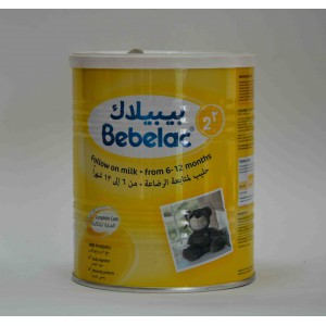 bebelac 2 follow on milk from 6-12 months  400 gm