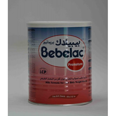 bebelac premature milk formula for low brith weight infants  400 gm