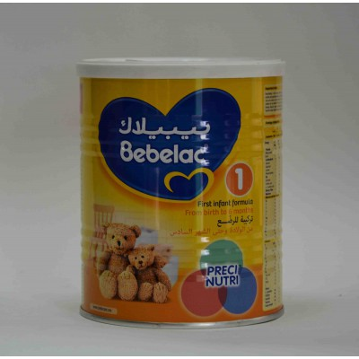 bebelac first infant formula from birth to 6 months 400 gm