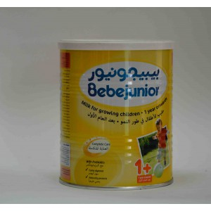 bebejunior milk for growing children 1 year on wards 400 g
