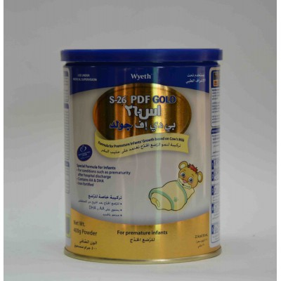 s-26 PDF gold powder for premature infants 400 g