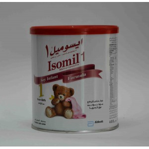 isomil 1 milk free lactose free soy infant 400 ml