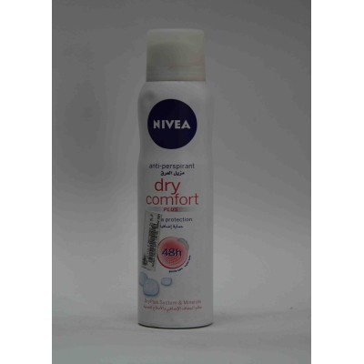 nivea anti perspirant dry comfort plus 48h 150ml