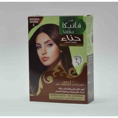 vatika henna based no ammonia natural brown