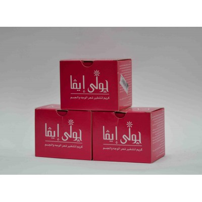 joli eva facial & body hair bleaching cream 40 gm
