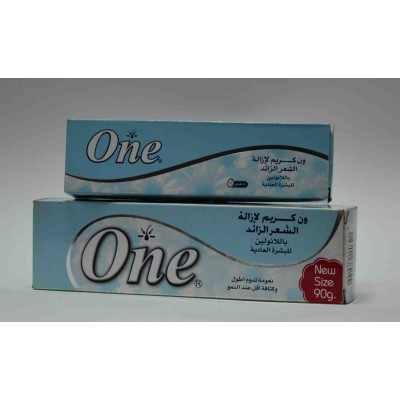 one hair removal cream in shower with lanoline for normal skin 40gm