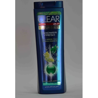 CLEAR men shampoo (shwer fresh with green tea ) 400ml